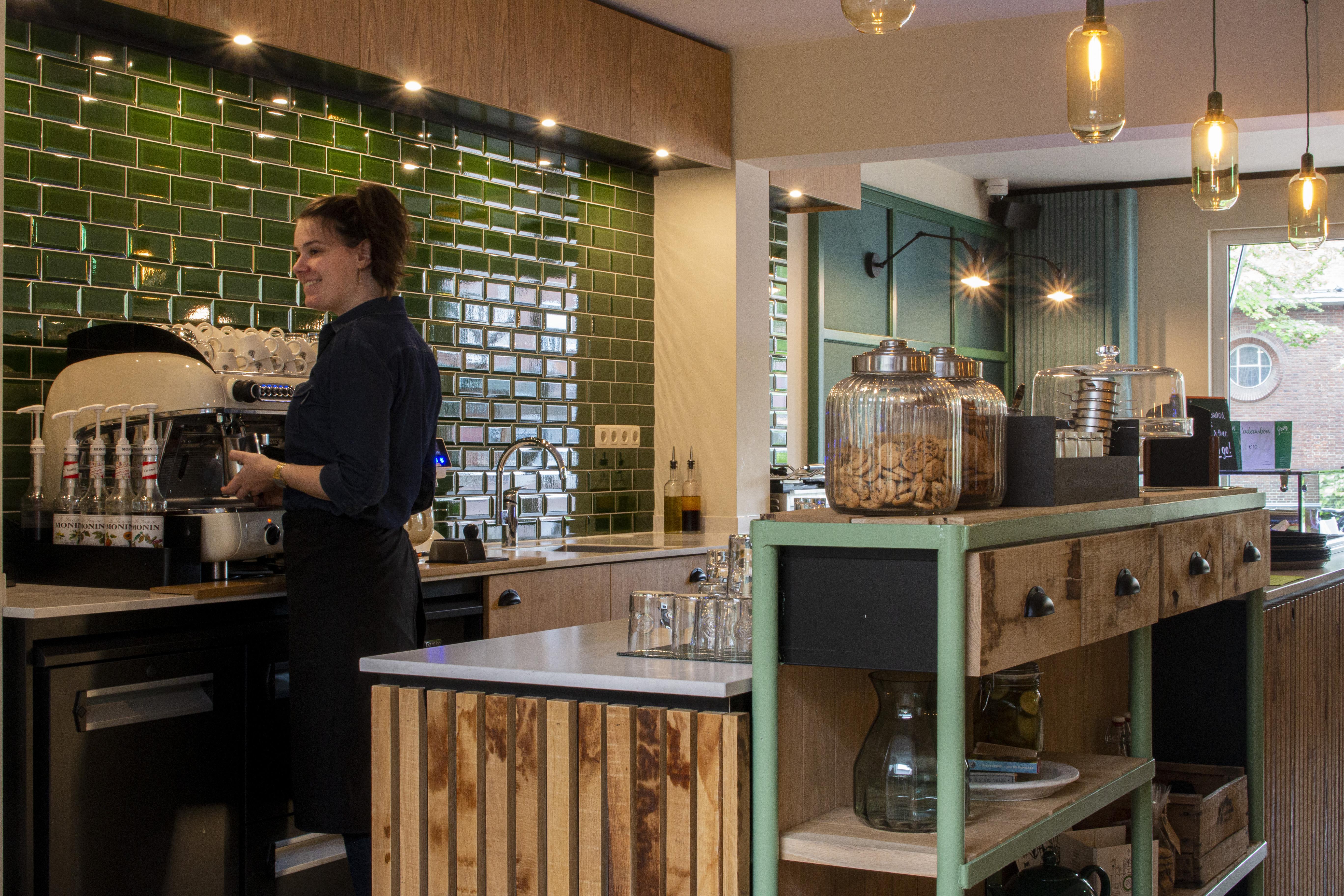 Gezellige koffie corner